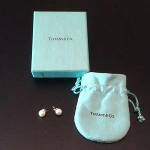 Tiffany & Co. pearl earrings